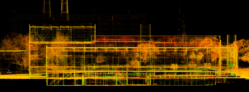 point cloud, elevation