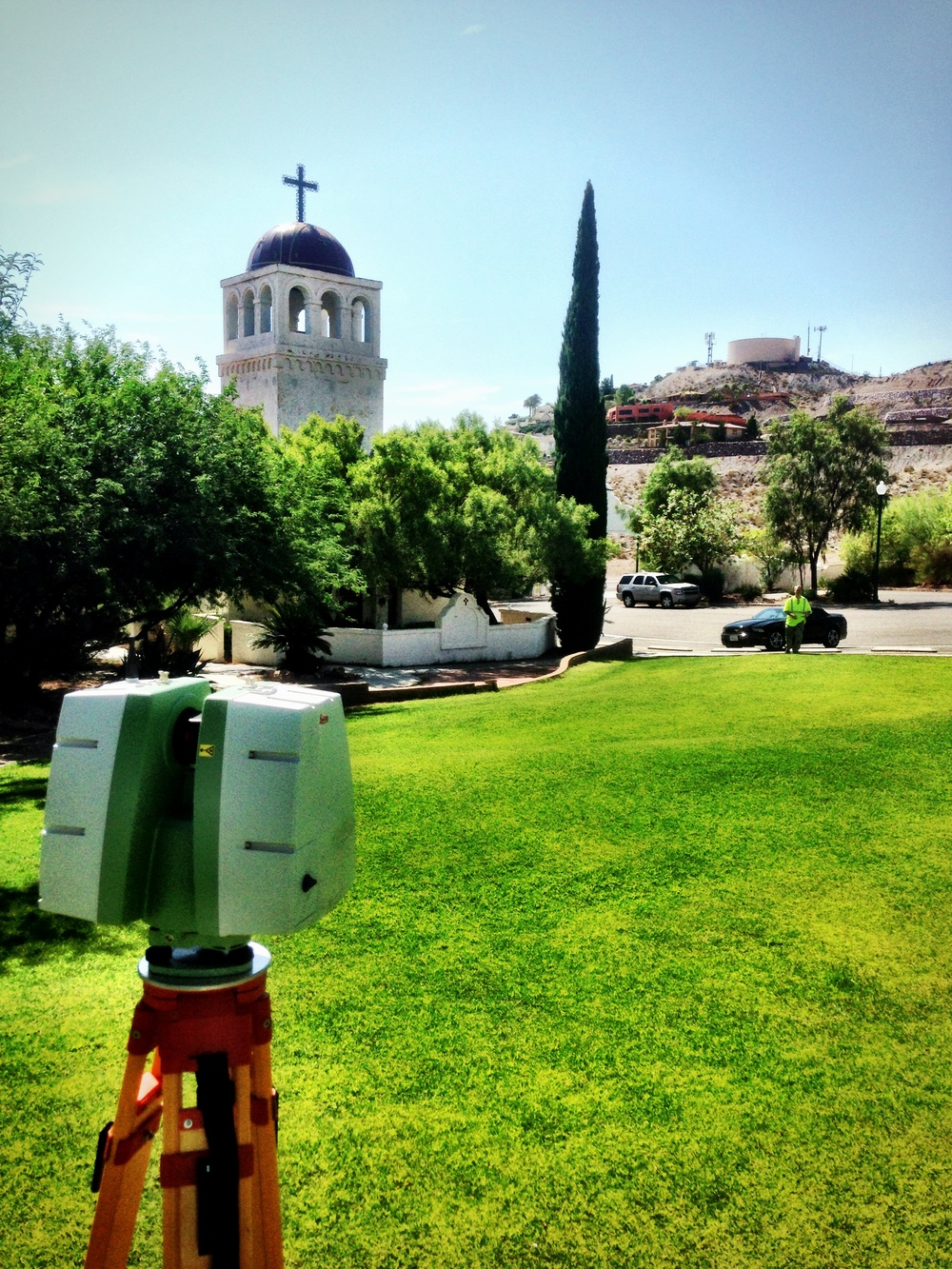 Laser Scanning in the field