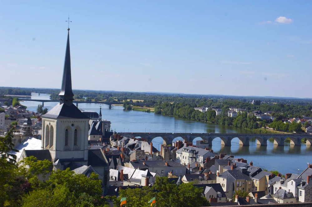 View from the Château de Saumur