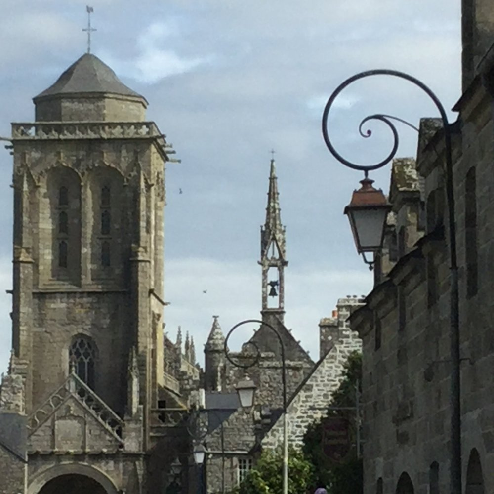 "Locronan, the village where Roman Polanski filmed ""Tess."""