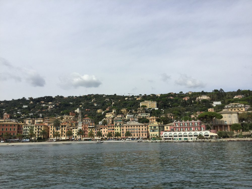 Santa Margherita from the ferry