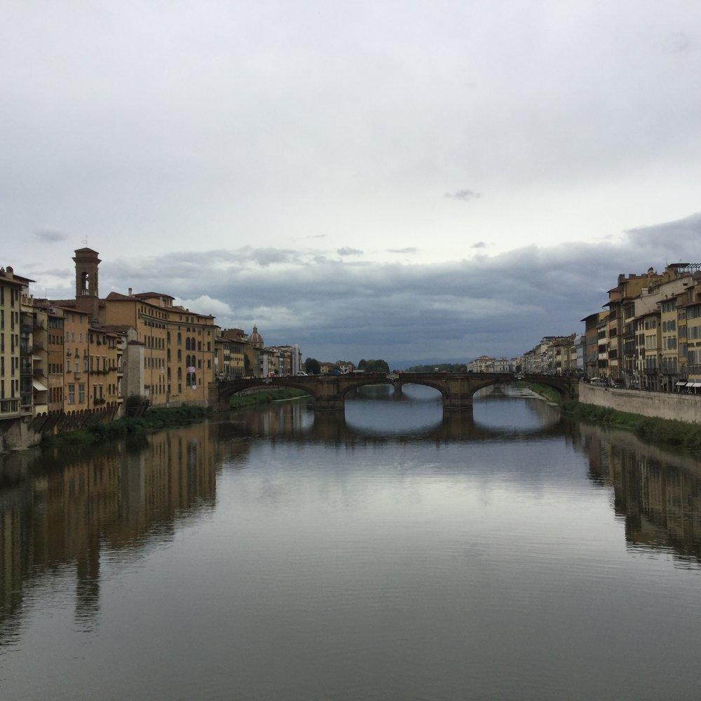 Crossing Ponte Vecchio