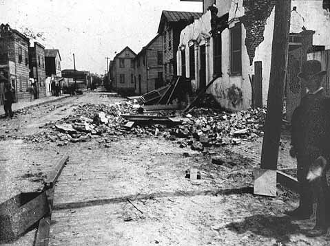 Charleston Earthquake of 1886. photo credit: St. Louis University Archives