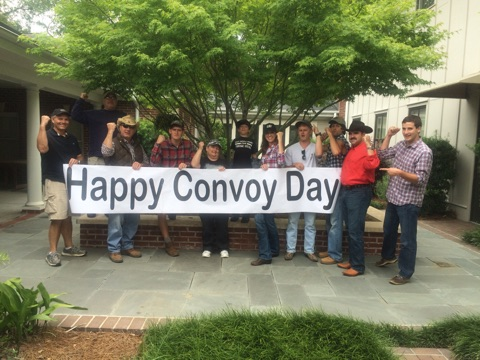 Convoy Day isn't a paid holiday, but still celebrated.