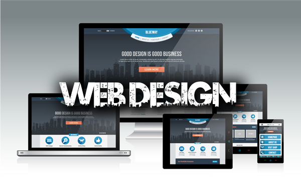 It all starts with a great looking website, with marketing built in to the design