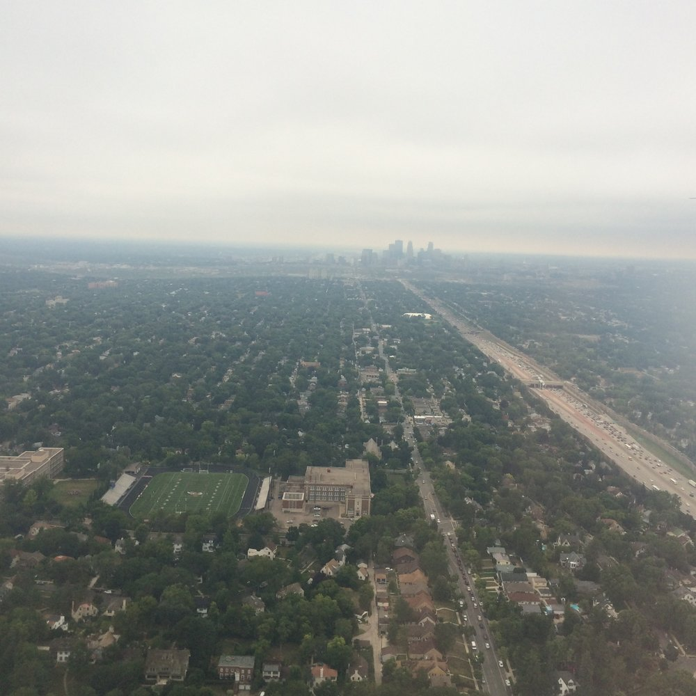 35W to Minneapolis