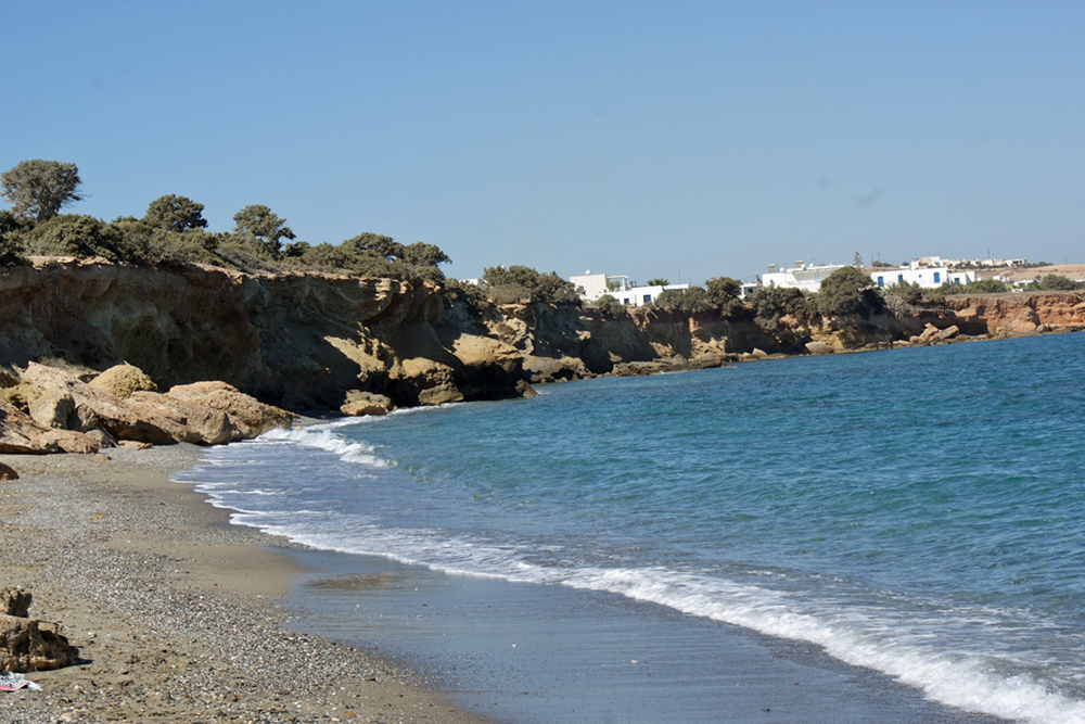 Another gorgeous beach on the island of Paros, Greece