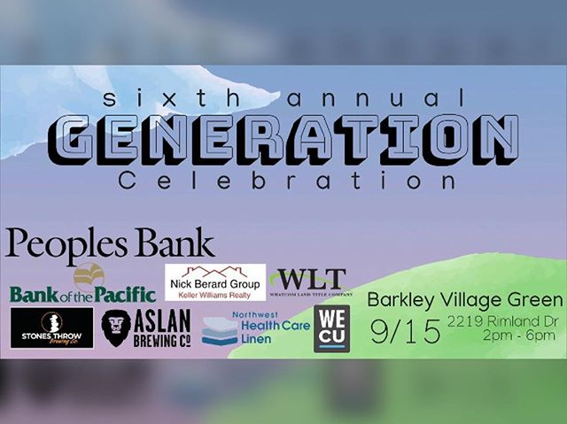 Join us at our sixth annual Generation Celebration at the Barkley Village Green! There will be live classic rock, grilled food, carnival games, a beer garden, and a silent auction. Entrance tickets are $10 and kids under 10 are free! See you there!