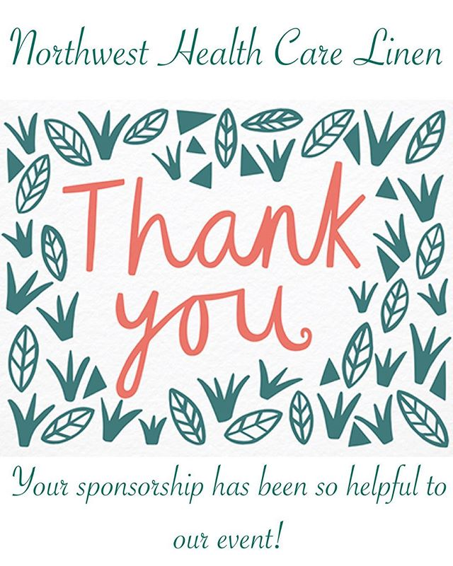 Thank you Northwest Health Care Linen! Generation Celebration is less than two weeks away and we couldn't have done it without your sponsorship! See you all on Saturday September 15th!
