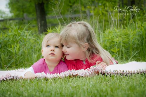 Sister love...