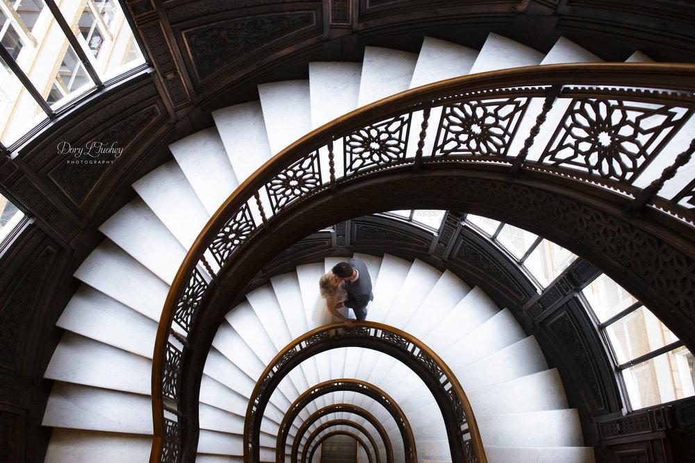 Rookery_chicago_dory_photographer_wedding_stairs_bhldn_love_dawson_01.jpg