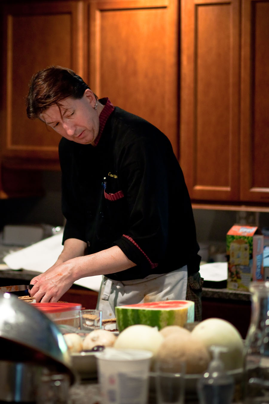 Chef Martin Howard, photo: Cornelia Theimer Gardella