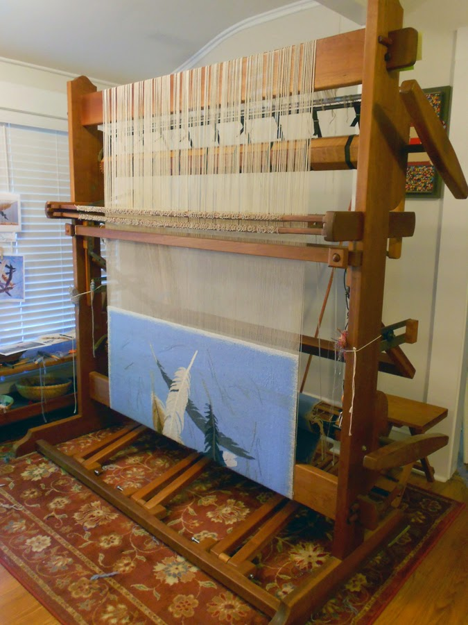 Which tapestry loom is right for me? Part 2: High-warp looms ...