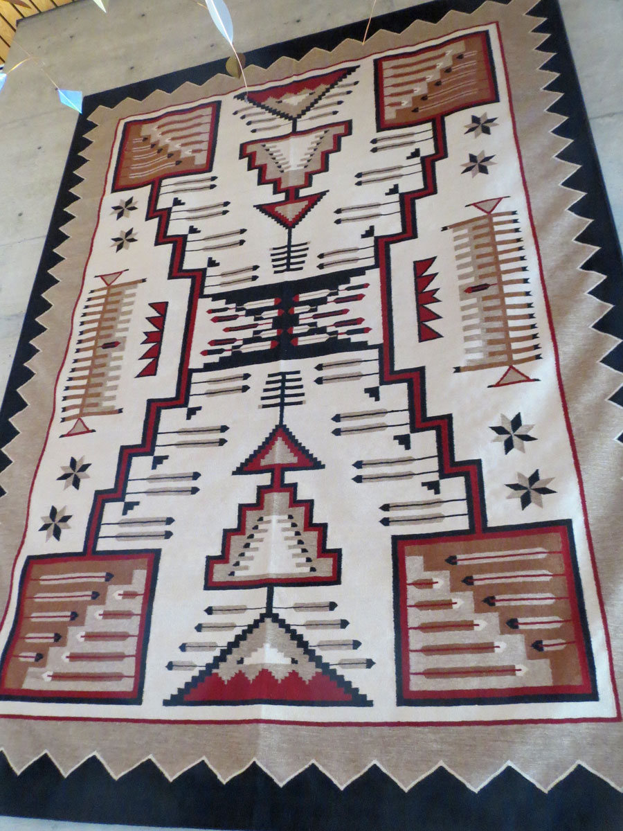 Storm, 1930 Revival Period, Navajo Reproduction, Scottsdale, AZ