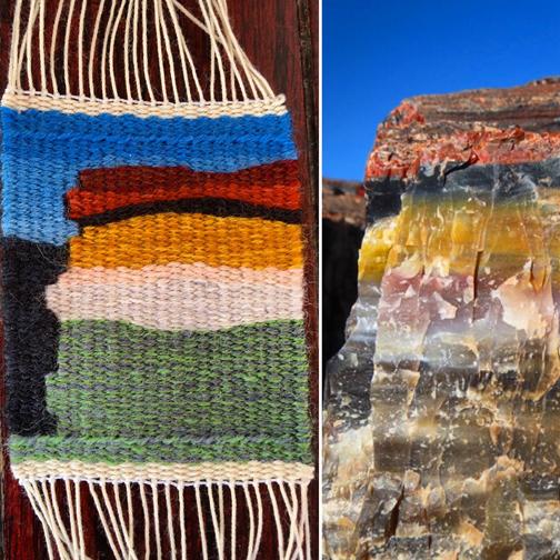 Day #24, Rebecca Mezoff, tapestry