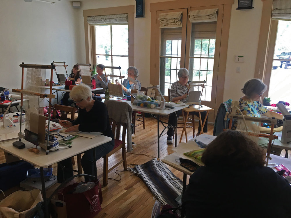 Vermont 2016 participants at work