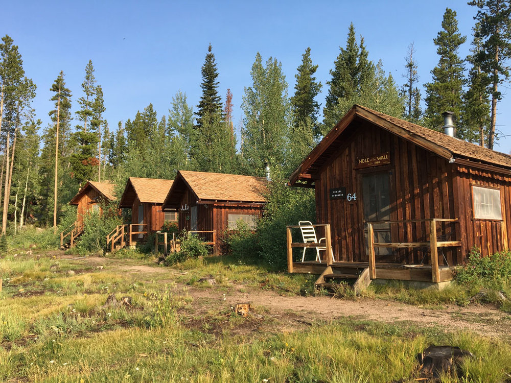 These were not our cabins, but they were cute!
