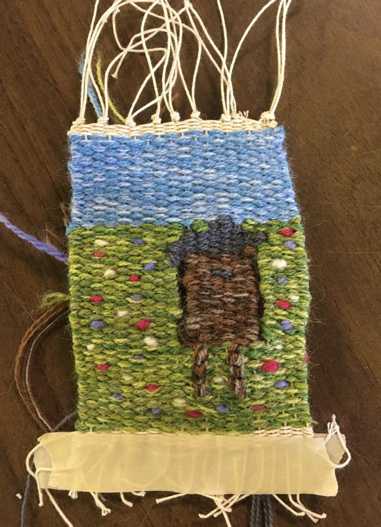 Jane's cabin tapestry