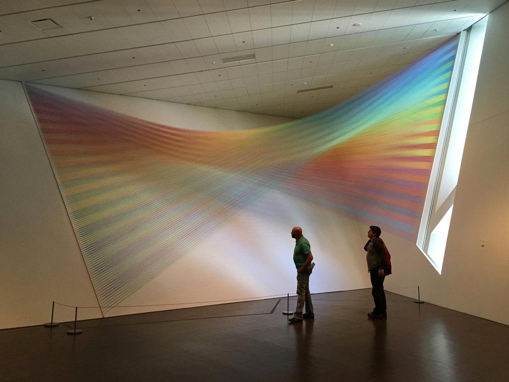 Gabriel Dawe,  Plexus No 36,  Denver Art Museum, Mi Tierra 2017.