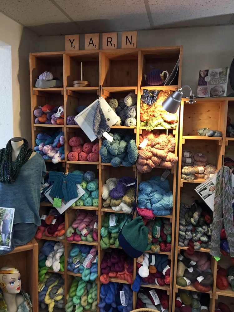 Some of the offerings at  Quillin Fiber Arts  in Las Cruces, NM.