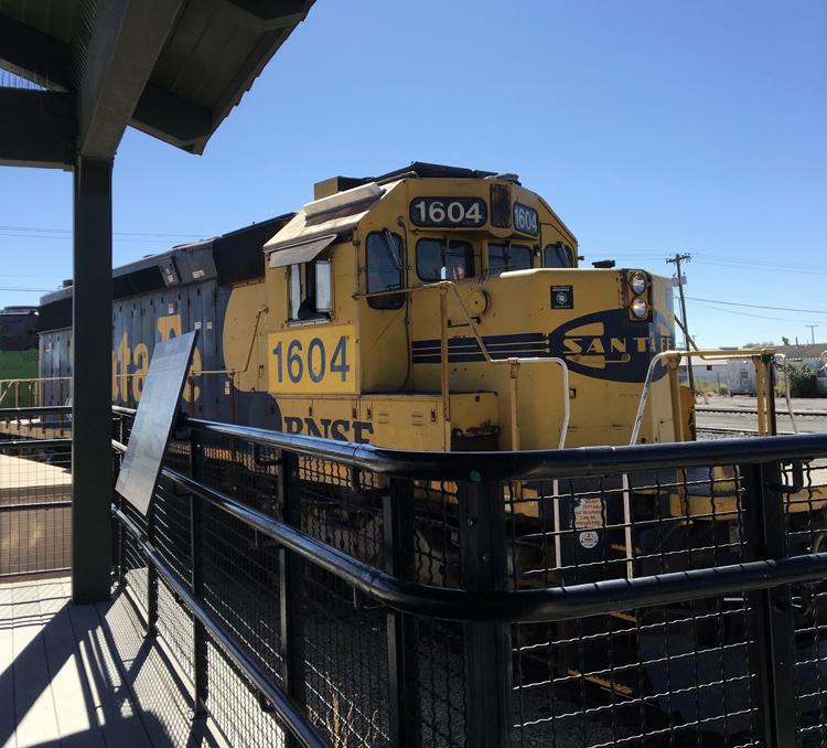 Las Cruces Railroad Museum.