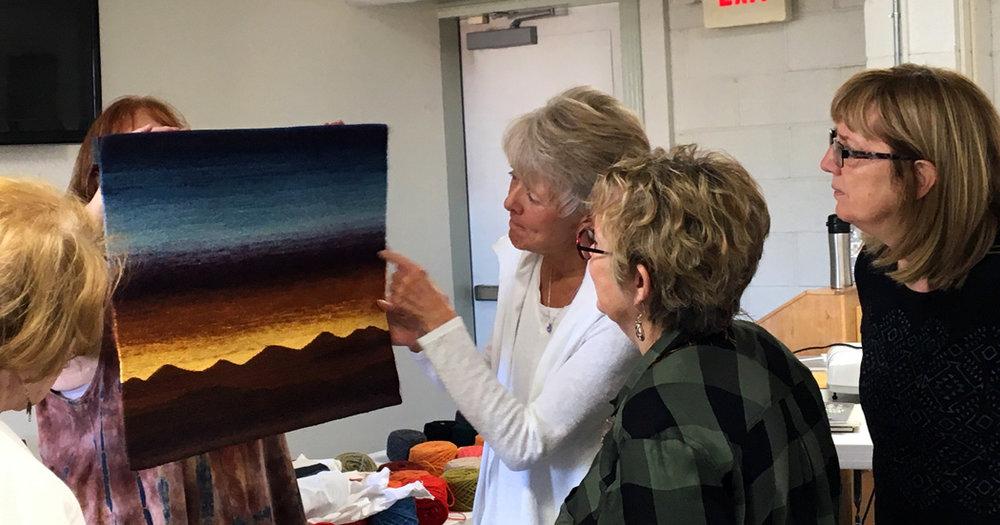 Linda Giesen, tapestry