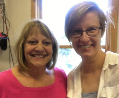 Donna Wynn and I