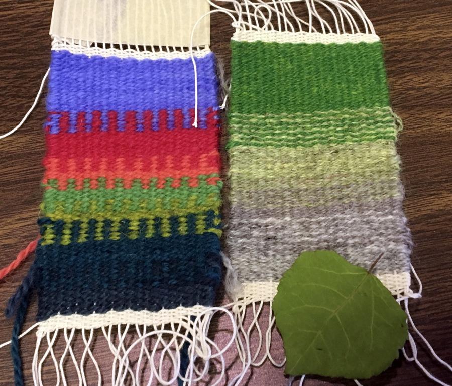 Gunnel's weavings