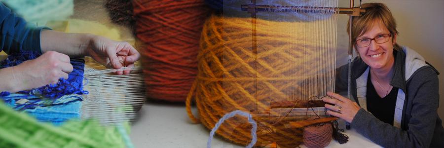 Rebecca Mezoff teaches tapestry weaving online at  www.tapestryweaving.com
