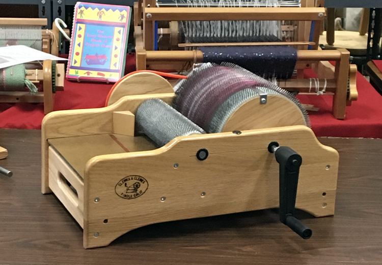 Clemes and Clemes drum carder