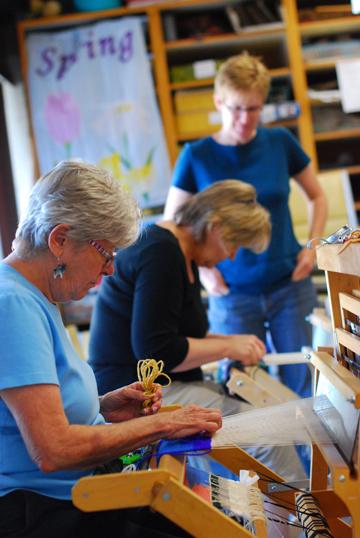 Teaching a workshop in Pueblo, CO. Photo: Laura Barger