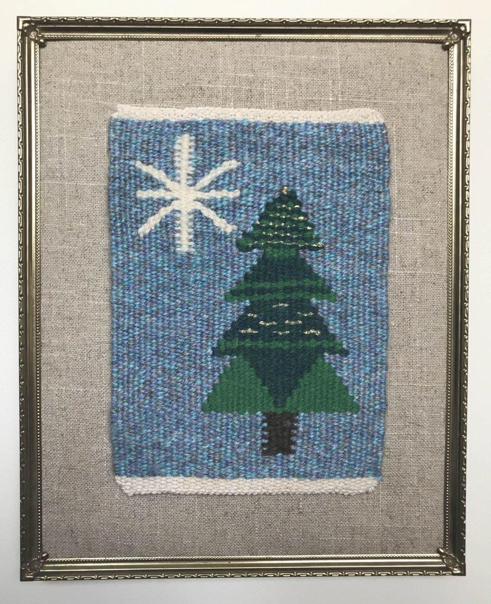 Robbie LaFleur's Norwegian holiday tree, #holidaytapestry17