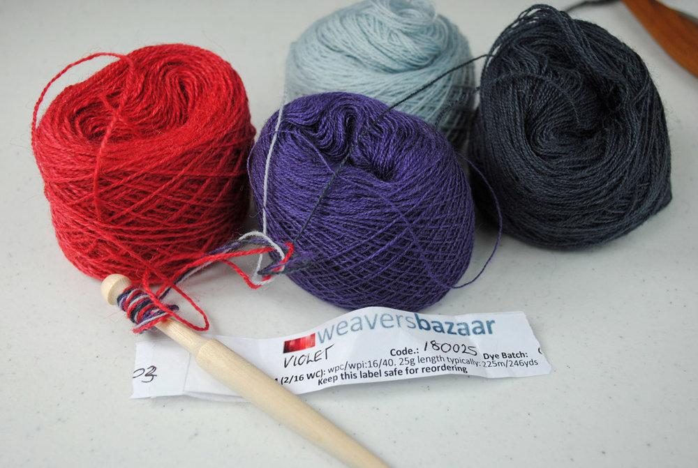 Weaver's Bazaar yarns