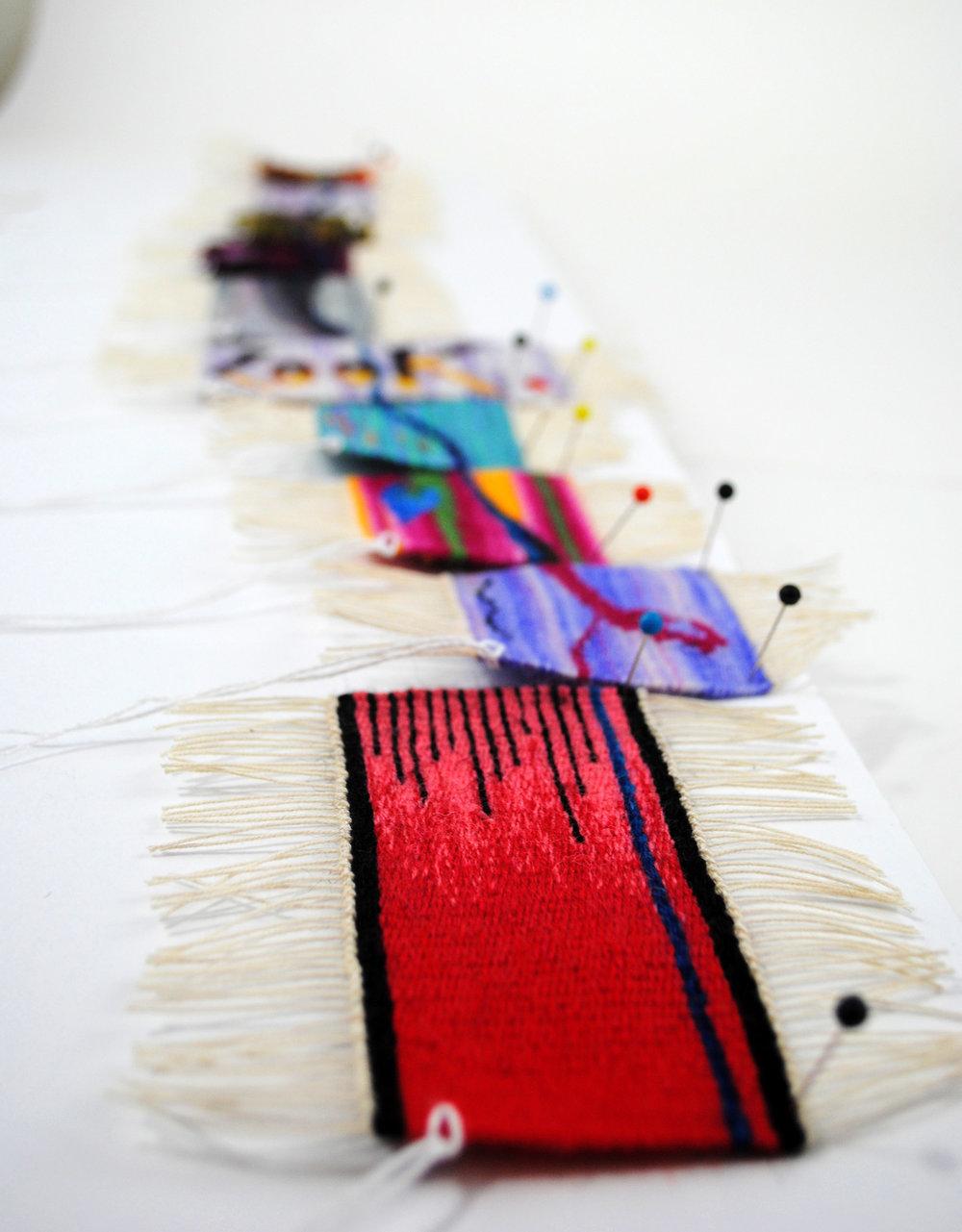Rebecca Mezoff, Tapestry Diary, 2017-18