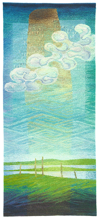 Joan Baxter,  Summerstones , tapestry