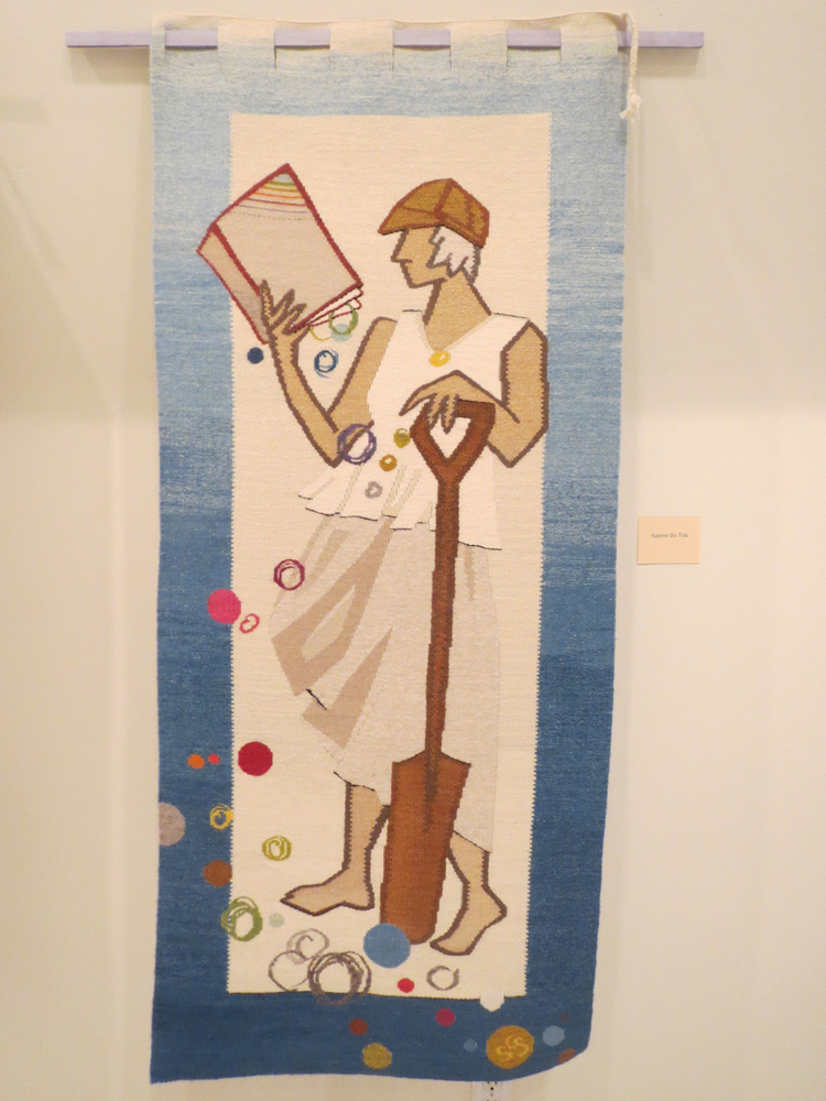 Sarah Swett,  Against the Tide,  60 x 24 inches