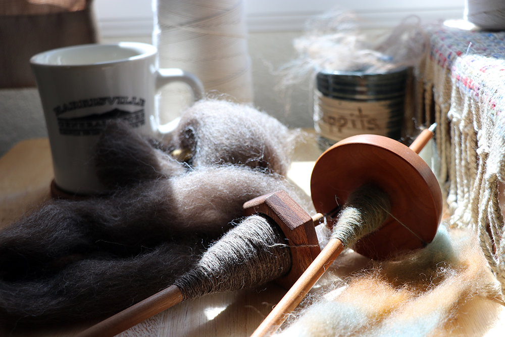 One only needs a few good tools. The Hepty and Maggie spindles are fantastic examples!