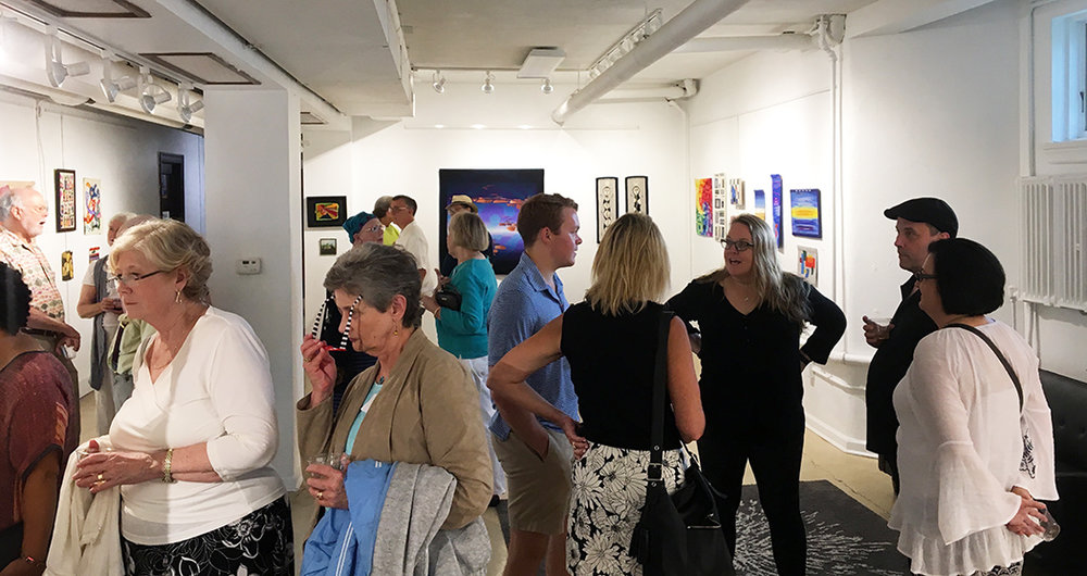 Warp and Weft  opening, August 14th, 2018