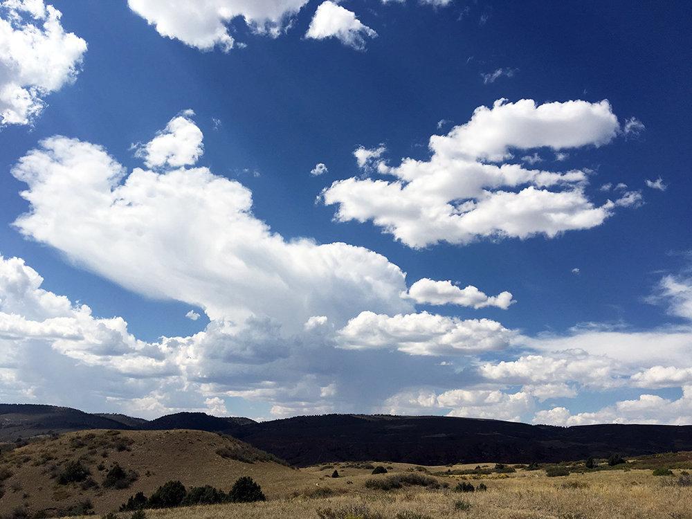 Big Colorado skies