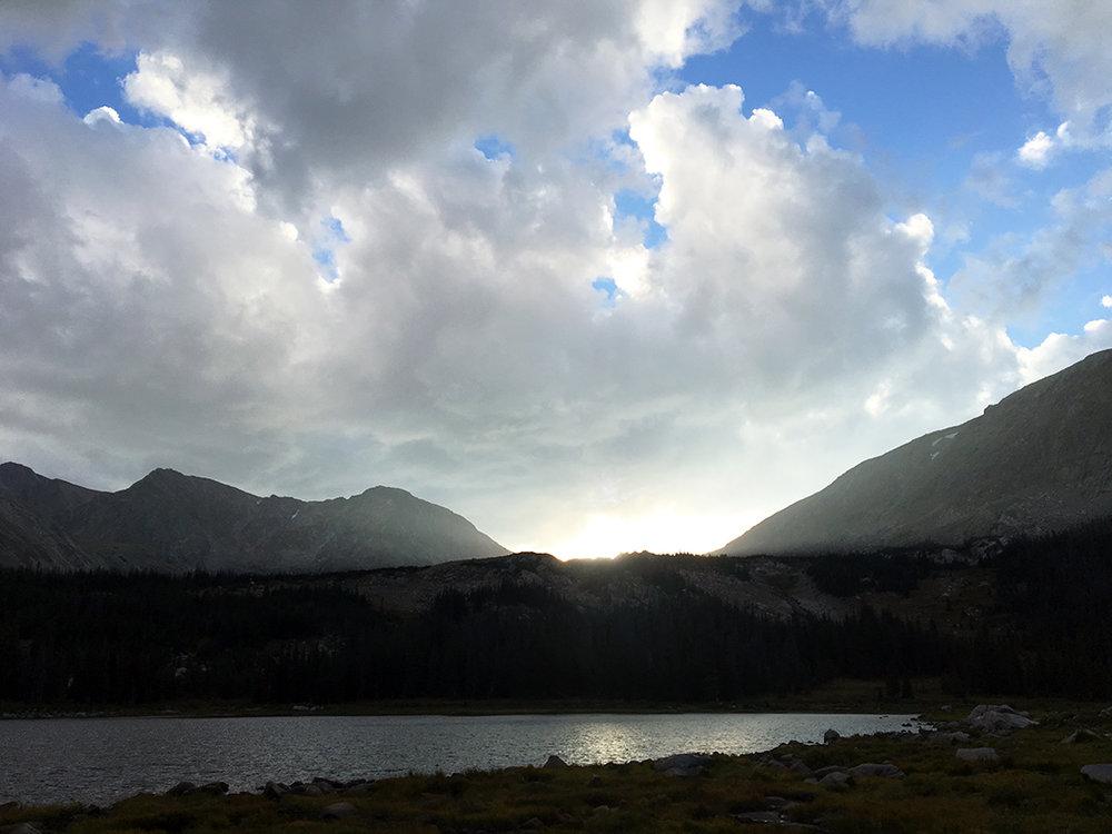 Lost Lake sunset