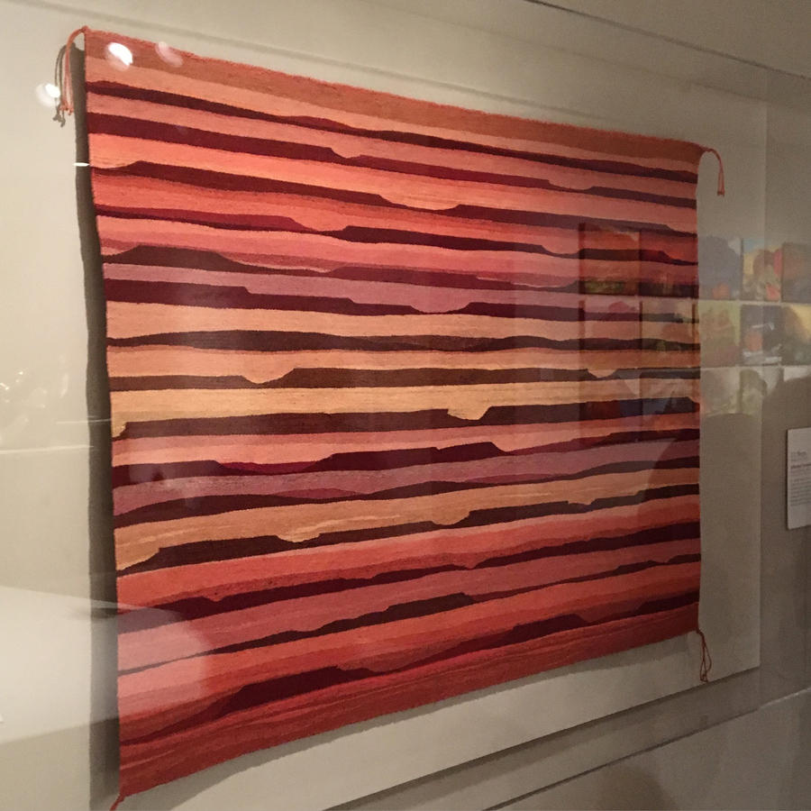 DY Begay,  Intended Vermillion,  In the collection of the Denver Art Museum