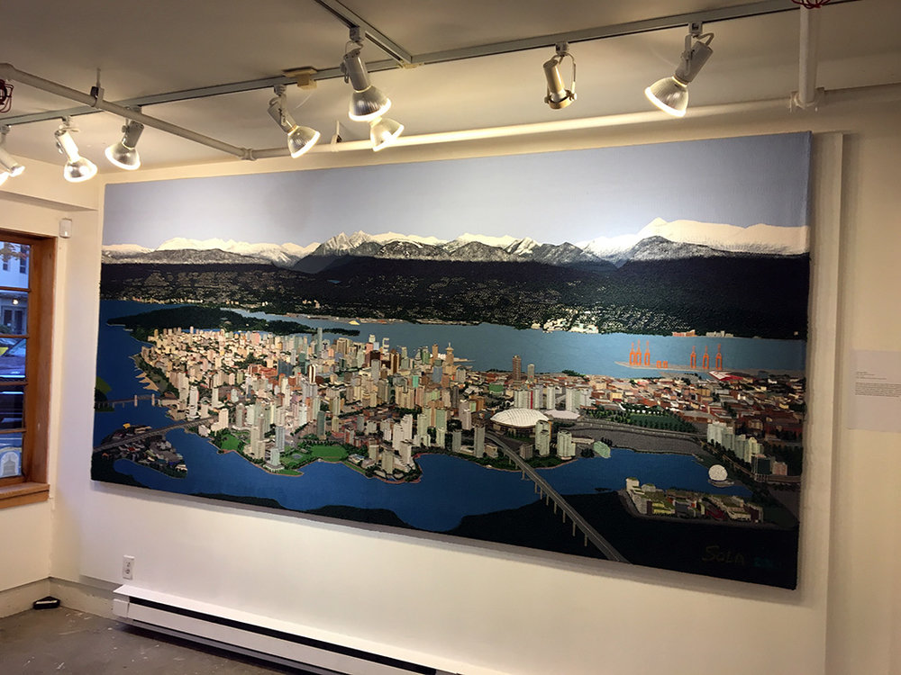 Sola Fiedler,  Vancouver,  11.6 x 5.3 feet