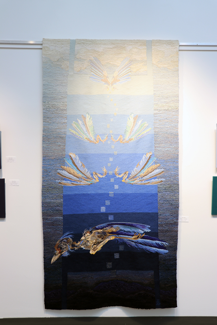 Barbara Heller,  Tzimtzum – Transcendence,  96 x 48 inches,