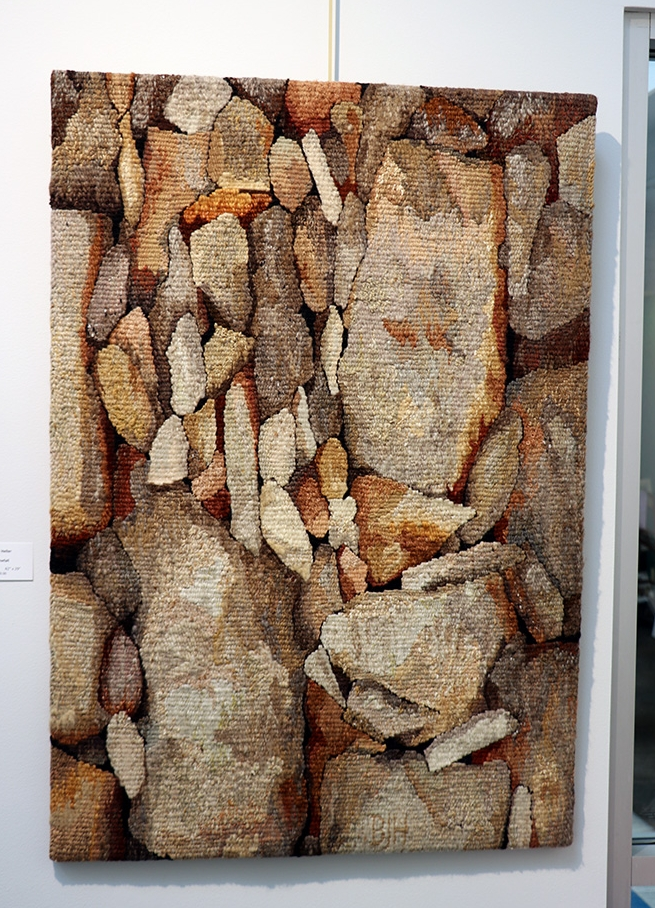 Barbara Heller,  Stonefall,  42 x 29 inches
