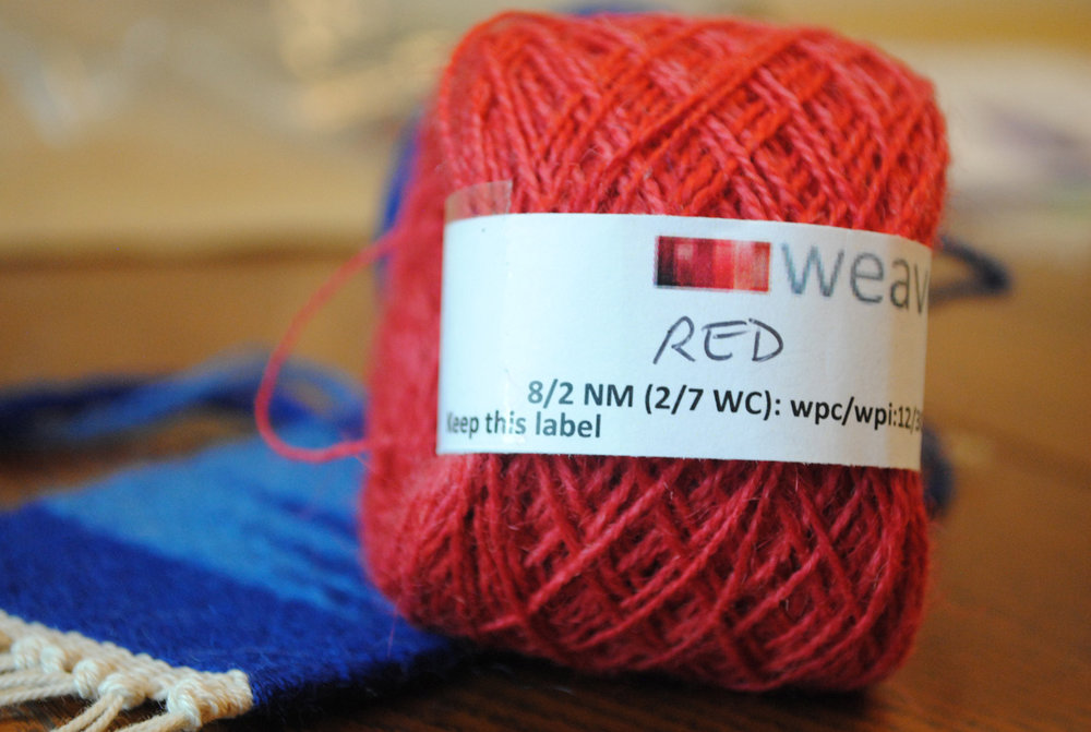 Weavers Bazaar yarn