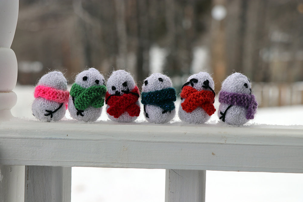 Oh those crazy snowpeople.