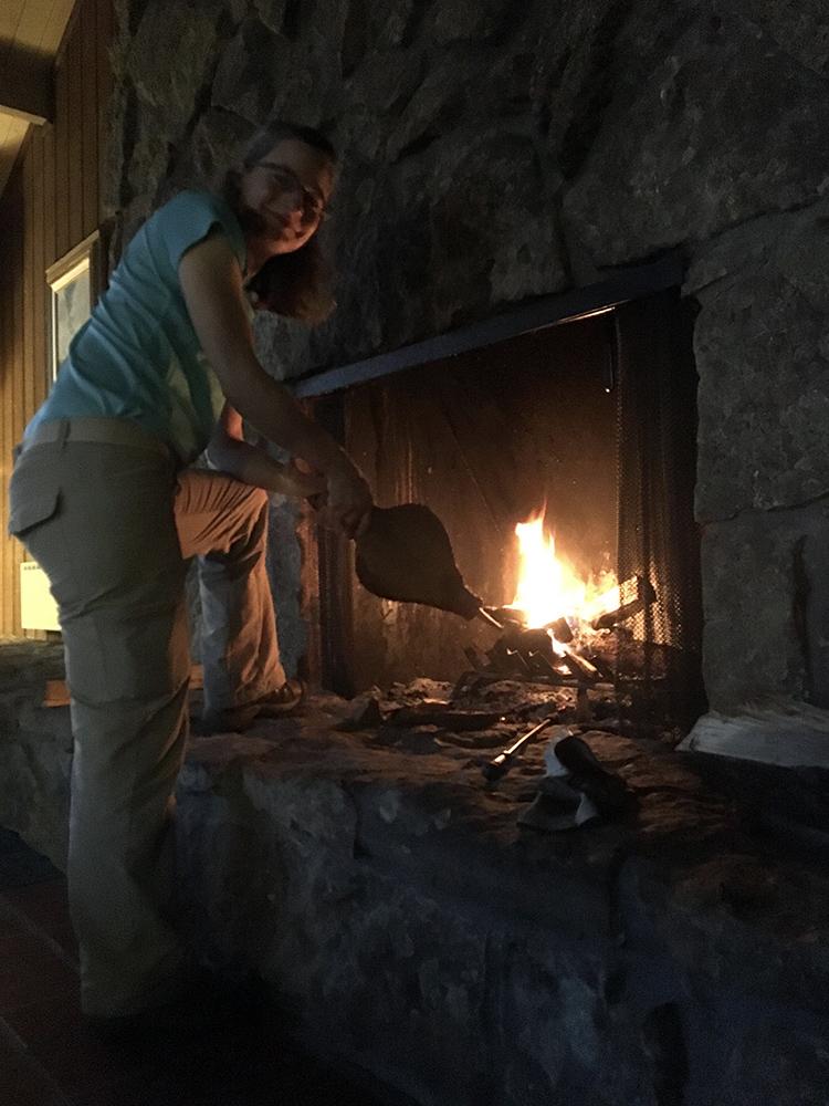 Hotchkiss fireplace