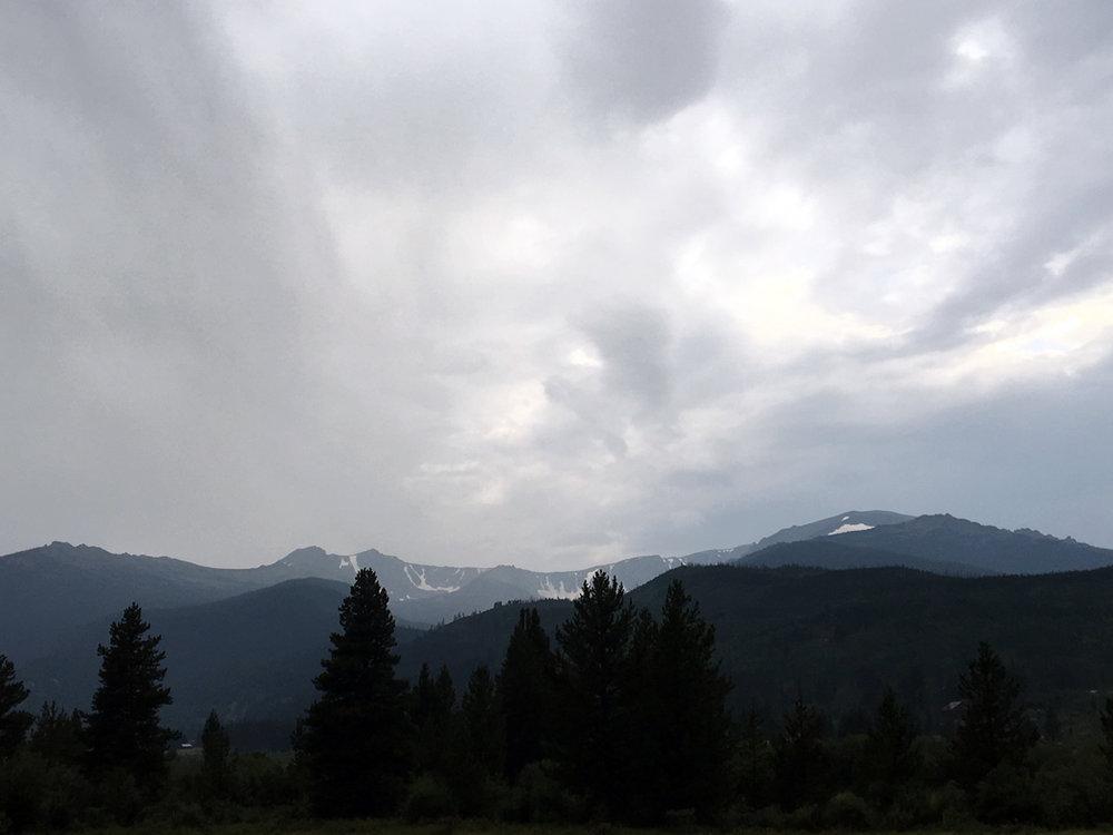 Mountains everywhere
