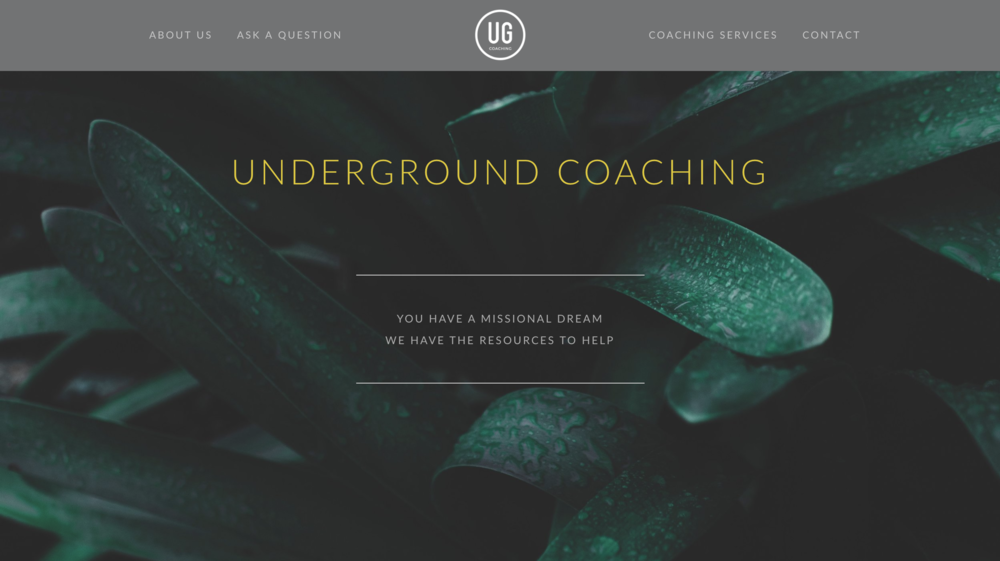 Underground Coaching
