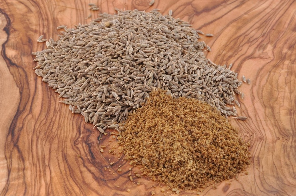 Cumin Seeds, Whole and Ground